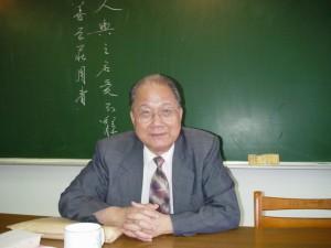 章法學會理事長:陳滿銘教授